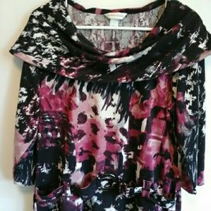 CHRISTOPHER & BANKS WOMENS BLOUSE